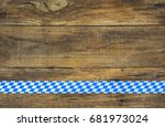 bavarian oktoberfest background ... | Shutterstock . vector #681973024
