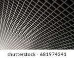 ceiling lines | Shutterstock . vector #681974341