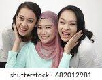 close up of harmony malaysian... | Shutterstock . vector #682012981