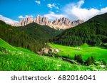 traditional alpine st johann... | Shutterstock . vector #682016041