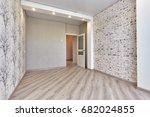 empty room after repair | Shutterstock . vector #682024855