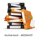 security office documents and...   Shutterstock . vector #68206429