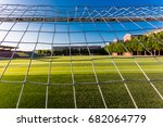 the goal of the campus | Shutterstock . vector #682064779