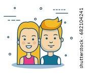 people vector illustration | Shutterstock .eps vector #682104241