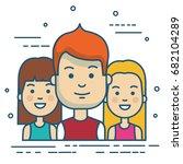 people vector illustration | Shutterstock .eps vector #682104289