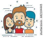 people vector illustration | Shutterstock .eps vector #682104445