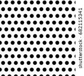 Black Polka Dots On White...