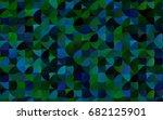 Dark Blue  Green Vector...