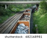 Recycling And Waste Train Goin...