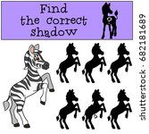 educational game  find the...   Shutterstock .eps vector #682181689