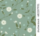 seamless vector pattern with... | Shutterstock .eps vector #682207951