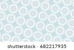 sloping colorful ornament for... | Shutterstock . vector #682217935