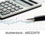 analysis of stock market... | Shutterstock . vector #68222470