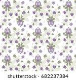 art boho pattern. ethnic... | Shutterstock .eps vector #682237384