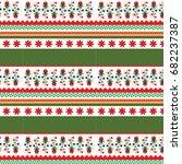 art boho pattern. ethnic... | Shutterstock .eps vector #682237387
