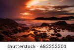 porto sanot  unlike mountainous ...   Shutterstock . vector #682252201