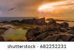 porto sanot  unlike mountainous ...   Shutterstock . vector #682252231