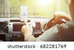 no signal cellphone network no... | Shutterstock . vector #682281769