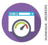 performance vector icon  | Shutterstock .eps vector #682283341