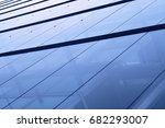 wall of an office tower  view... | Shutterstock . vector #682293007