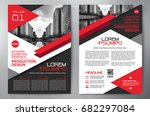 business brochure. flyer design.... | Shutterstock .eps vector #682297084