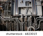 part of the interiors of an...   Shutterstock . vector #6823015