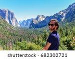 Tourist In Yosemite