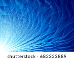 abstract blue vector background.... | Shutterstock .eps vector #682323889