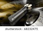 digital illustration of... | Shutterstock . vector #68232475