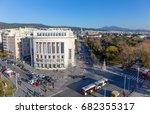 thessaloniki  greece   december ...   Shutterstock . vector #682355317