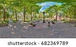 full spherical 360 degrees... | Shutterstock . vector #682369789