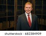 prague  czech republic  july 22 ... | Shutterstock . vector #682384909