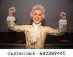 prague  czech republic  july 22 ... | Shutterstock . vector #682389445