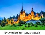 sinaia  romania. idyllic...   Shutterstock . vector #682398685