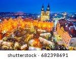 prague  czech republic.... | Shutterstock . vector #682398691