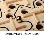 Stock photo find the right way 68240635