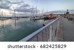 yarmouth  isle of wight  uk.... | Shutterstock . vector #682425829