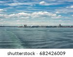 southampton's docks and... | Shutterstock . vector #682426009