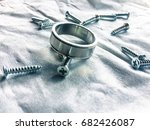 scatter | Shutterstock . vector #682426087