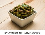 Green Beans Masala Dry Curry ...