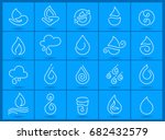 clean energy and eco icons. | Shutterstock .eps vector #682432579