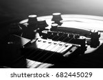 Electric Guitar Macro Abstrac...