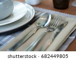 tableware  tableware  banquet | Shutterstock . vector #682449805