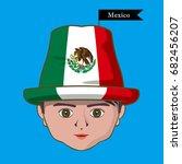 vector of  international flags... | Shutterstock .eps vector #682456207