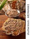 healthy wholegrain bread... | Shutterstock . vector #682464661