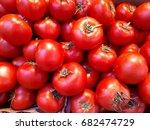 fresh tomato   Shutterstock . vector #682474729