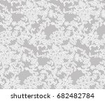 seamless lace floral ornament ...   Shutterstock .eps vector #682482784