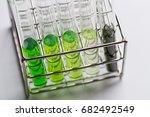 powder of cannabis  drugs  ... | Shutterstock . vector #682492549