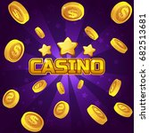 casino winner background. gold...