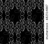 endless abstract pattern.... | Shutterstock .eps vector #682514887